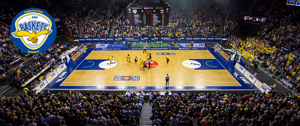 EWE Baskets Oldenburg - SupporterPool