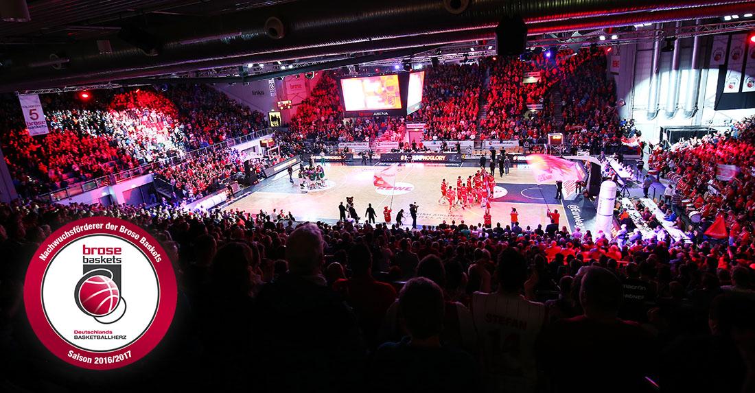 Nachwuchsförderclub der Brose Baskets geht in die 8. Saison 2016/17